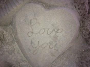Sand Art on Coronado Beach