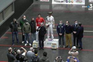 Ducassou campeón individual trinquete francia 2021