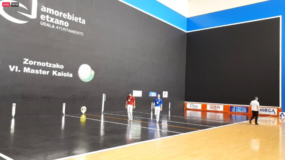Gutiérrez campeón Master Kaiola