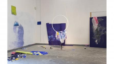 La source I | 2016 | installation | mixed media | at Parc Saint Léger Centre d'art contemporain, Pougues-les-eaux, France