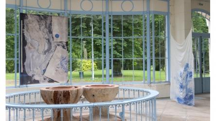 la source II | 2016 | installation | mixed media | at Parc Saint Léger Centre d'art contemporain, Pougues-les-eaux, France