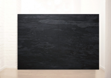 MN 1 (series: Mares negros) I 2014 I Acrylic on canvas I Diptych 280 x 200 cm I Photo © C. Ambrus