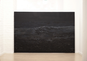 MN 2 (series: Mares negros) I 2013 I Acrylic on canvas I 220 x 150 cm I Photo © C. Ambrus