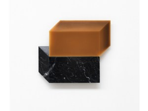 2016 MW11 | marquina marble, beeswax | 59 x 43 x 3 cm | Photo © Stefano Tonicello