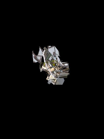 KATHRIN GANSER | Gyro-Scan #4 | 2014 | Plazas # LP/MP/PP series | Lightjet Print | 32 x 24 cm