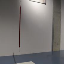 From left to right | Attilio Tono: PPWG2, 2017, Plaster, glass, red wine, 140×140×10 cm; PRW23, 2017, Plaster, red wine, 49×99,5×10 cm