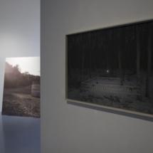 Right: Betty Böhm, Ring 1, 2017, Hahnemühle Fine Art Print in artist's frame, 60×100 cm