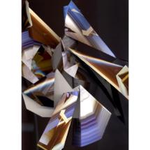 """Kathrin Ganser: Faltungen #2, 2018 (from the series """"Sculpture Scans""""), Fine Art Print, 70 × 50 × 3 cm"""