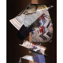 "Kathrin Ganser: Faltungen #3, 2018 (from the series ""Sculpture Scans""), Lightjet Print, 42 × 52 × 3 cm, Ed. 1/2 +1 AP"