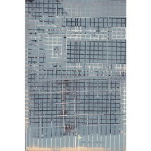 Katja Pudor: Urania Universum #17, 2018, Vinylcut on paper, 23 × 15 cm