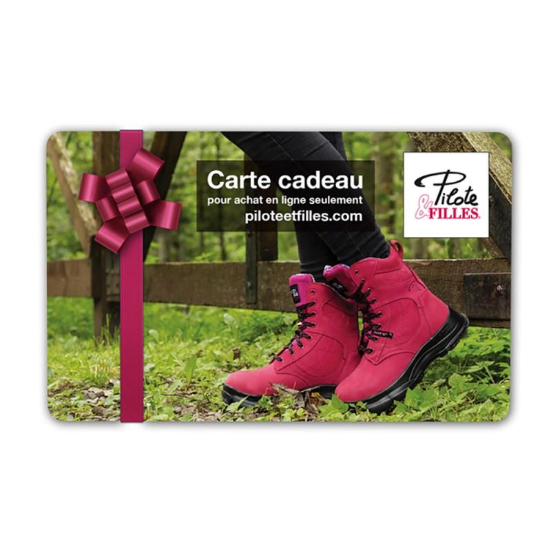 Carte Cadeau Pilote & Filles - V6