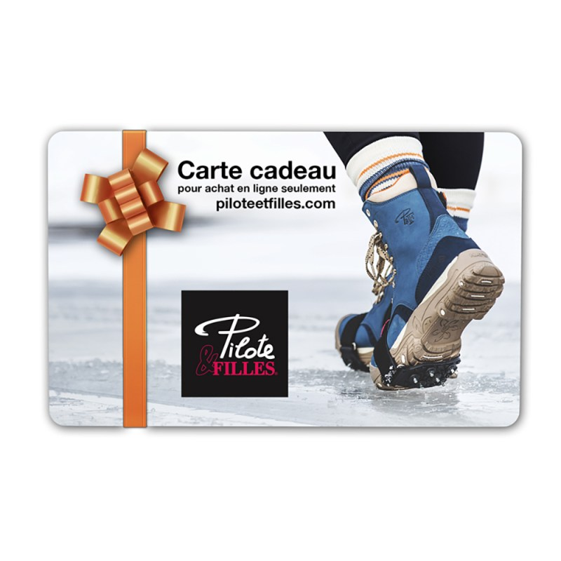 Carte Cadeau Pilote & Filles - V8