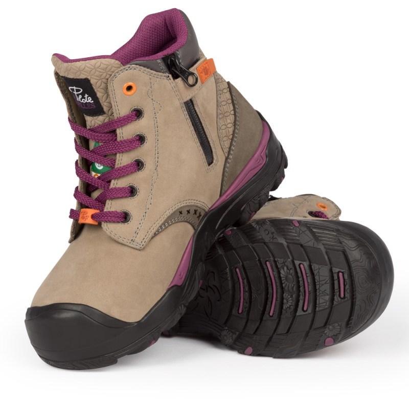 Bottes de sécurité pour femme   Woman Safety Footwear