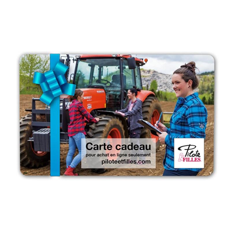 Carte Cadeau Pilote & Filles - V22
