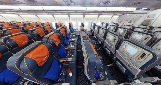 Аэробус A330 300 Аэрофлот салон