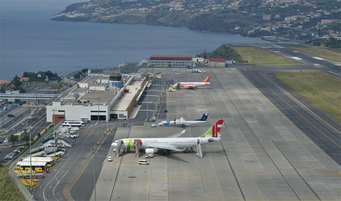 Аэропорт Мадейра. Португалия