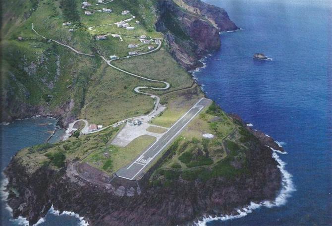 Аэропорт острова Саба, Нидерланды фото