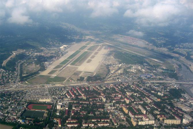 Аэропорт Сочи, Россия фото