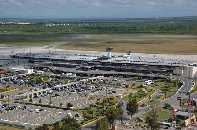 Аэропорт столицы Санто Доминго