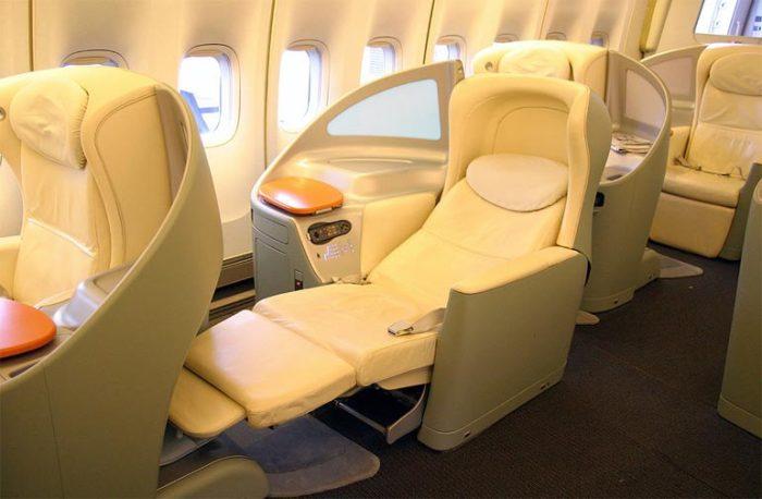 Boeing-747-400 внутри