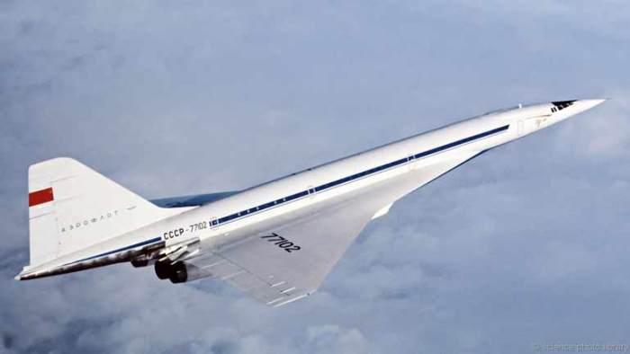 Ту-144 Скорость