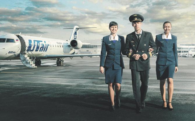 Зарплата стюардесс в Utair