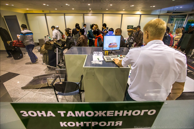 Аэропорт Домодедово таможенный контроль