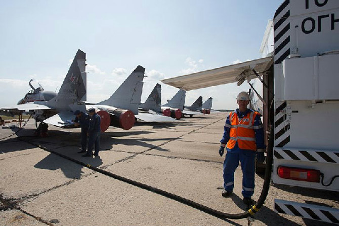 Авиакеросин для военных самолетов