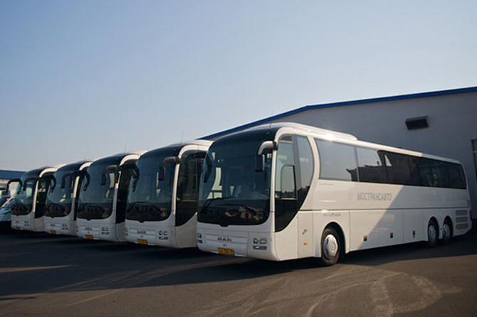 Автобус из Рязани