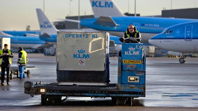 Багаж KLM
