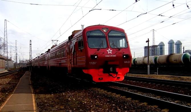 Электропоезд Рязань Внуково