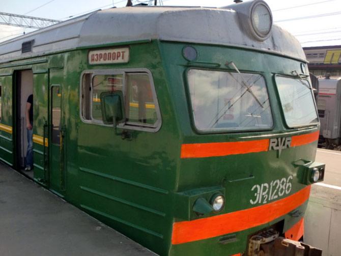 Из Жуковского в Домодедово электричка