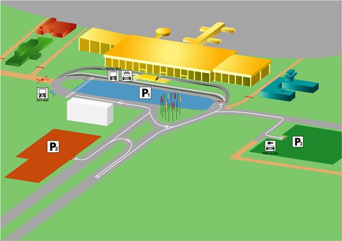Парковки аэропорта Рига