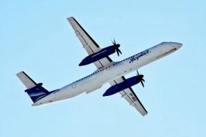 Самолет Q400 Якутия
