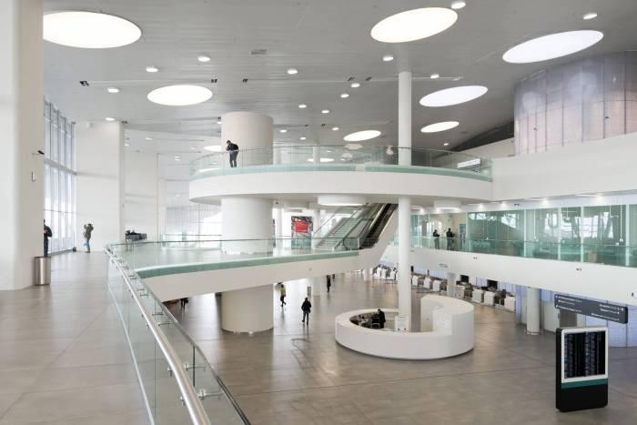 новый терминал аэропорта Самары