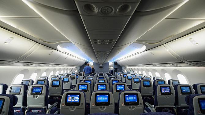 Боинг 787 (Dreamliner) количество мест