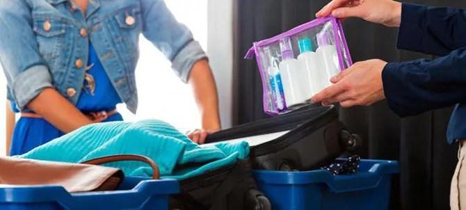 Правила перевоза жидкости в самолете