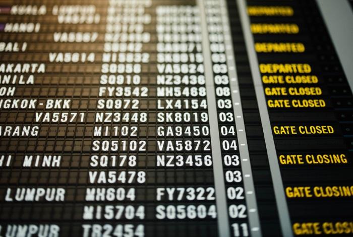Коды аэропортов