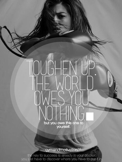 You owe this one to yourself. #motivation #inspiration #run {PilotingPaperAirplanes.com}