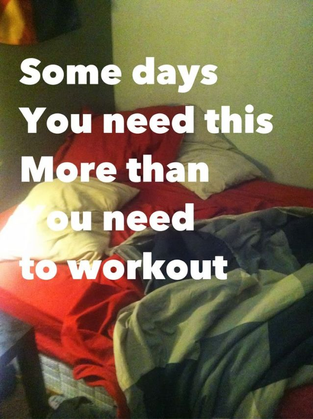 Need to rest. #restday #run #fitness #workout #motivation #inspiration {PilotingPaperAirplanes.com}