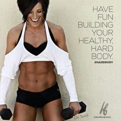 Have fun building your healthy, hard body. #fitness #workout #health #motivation #inspiration {PilotingPaperAirplanes.com}