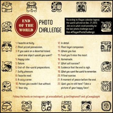 #MayanPhotoChallenge
