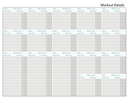 Workout calendar back {Piloting Paper Airplanes}