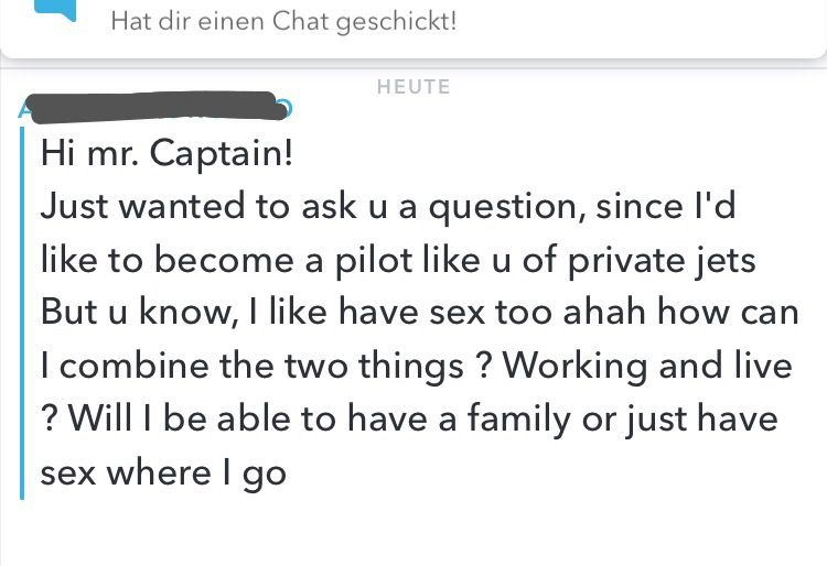 snapchat funny question pilotlife