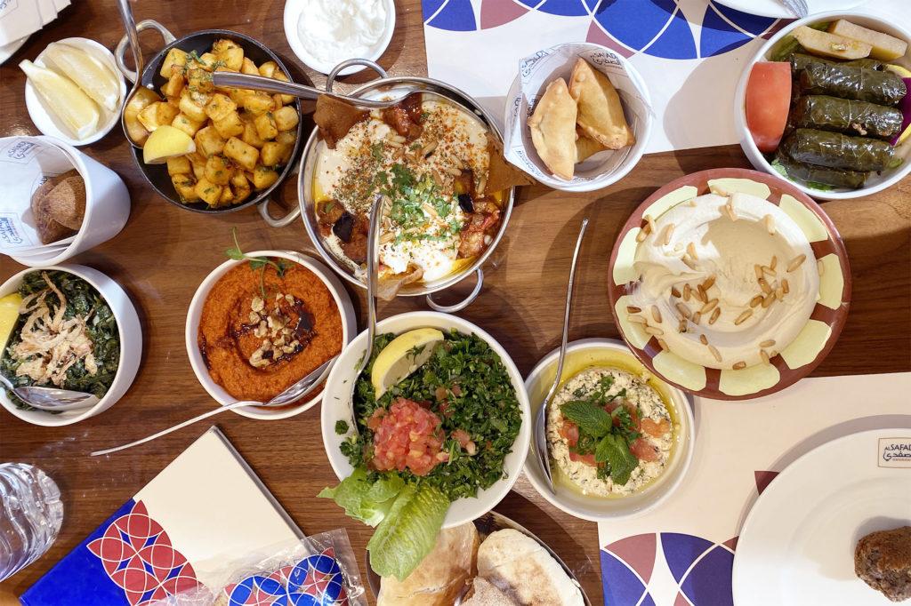 Lebanese restaurants in Dubai