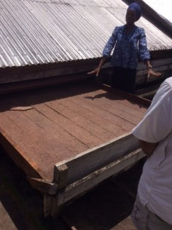 Cocoa Bean Drying and Storing Shed
