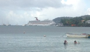 Cruise Ship, St. Georges, Grenada