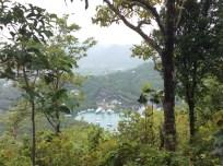 The Views Were Worth the Climb, Marigot Bay, St. Lucia