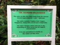 Diamond Falls, St. Lucia