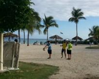 Soccer at Nanny Cay, Tortola, BVI
